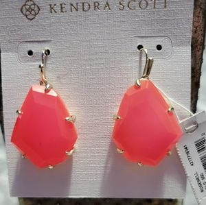 Kendra Scott Pink Rosenell Earrings